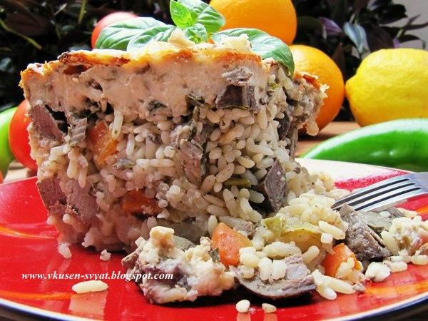 Празнична агнешка дроб сарма за табиетлии / Holiday Lamb Drob Sarma for Connoisseurs