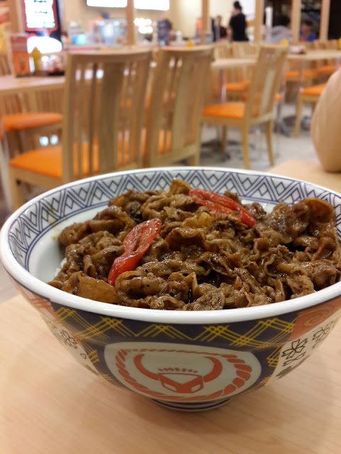 Menu Yoshinoya, Black Papper Beef ~ Rasanya a little bit spicy