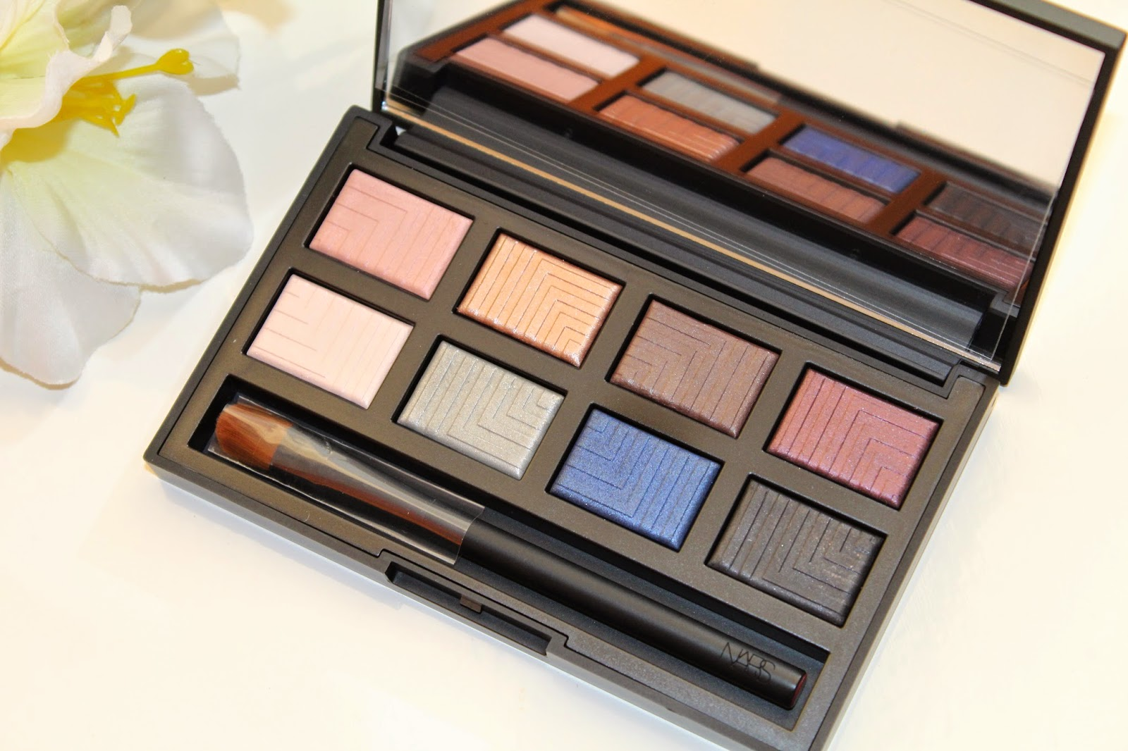 Nars Dual-Intensity Eyeshadow Palette swatches and review