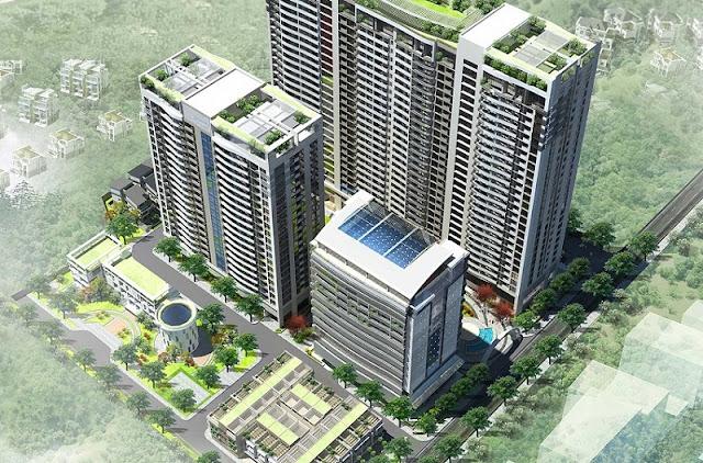 Tràng An Complex: tổ hợp chung cư với 800 căn hộ cao cấp