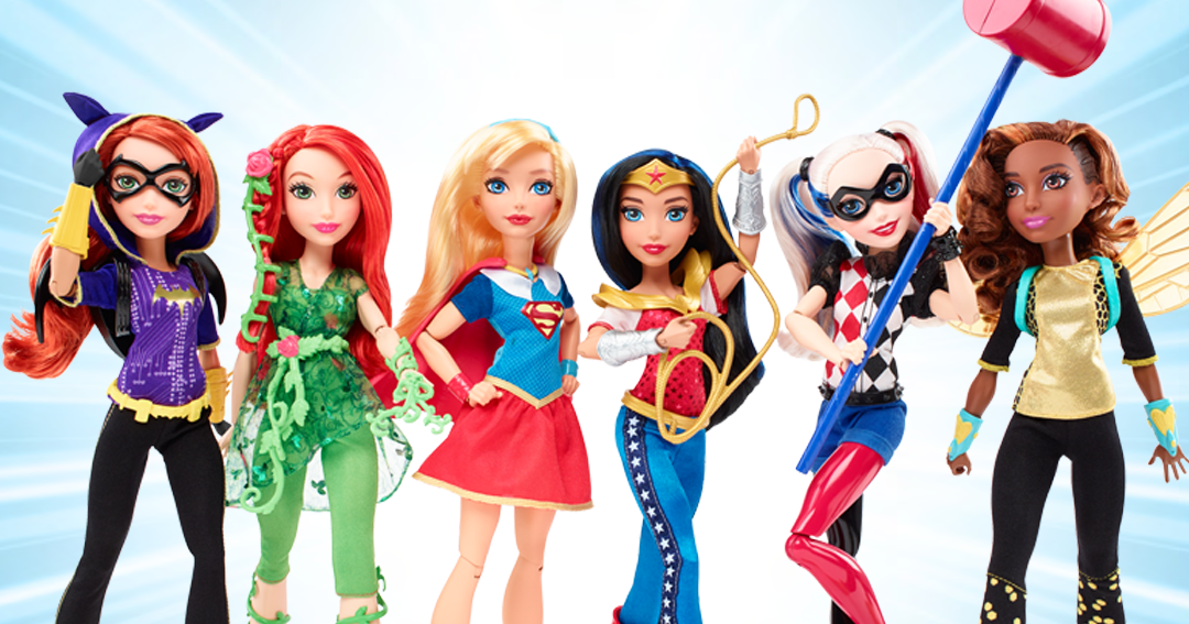 Black Doll Collecting Dc Super Hero Girls Action Dolls By -1339