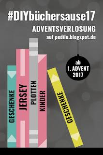 #DIYbüchersause17 – Adventsverlosung bei pedilu
