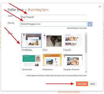 Cara Membuat Blogspot Terbaru