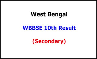 West Bengal Madhyamik (Secondary) Exam Result 2020