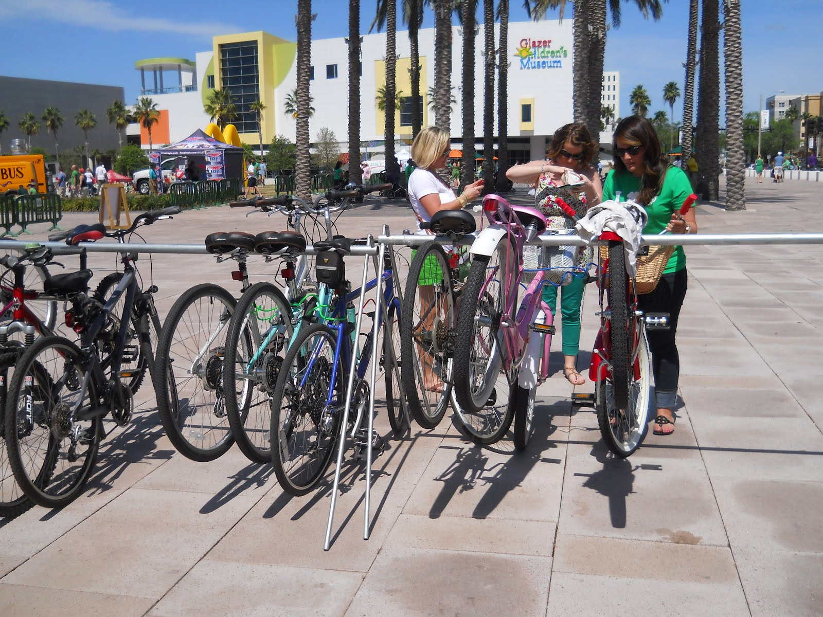 Bike Shop Tampa Fl Bicycle Stories Bike Valet At The Mayor 39s Green River