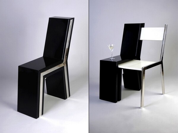 Chair Inside A Chair U2013 Compact And Space Saving