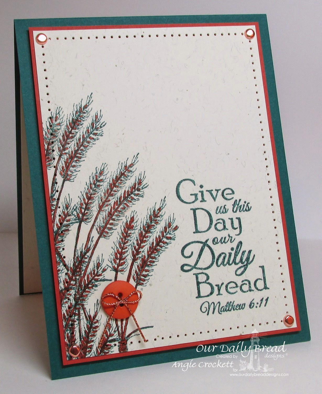 ODBD Our Daily Bread, Card Designer Angie Crockett