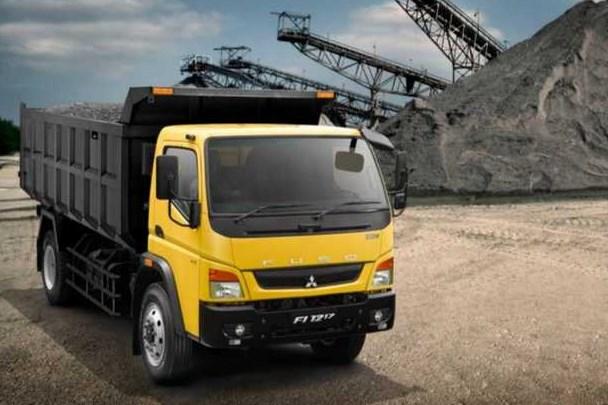 dump truk new fuso terbaru