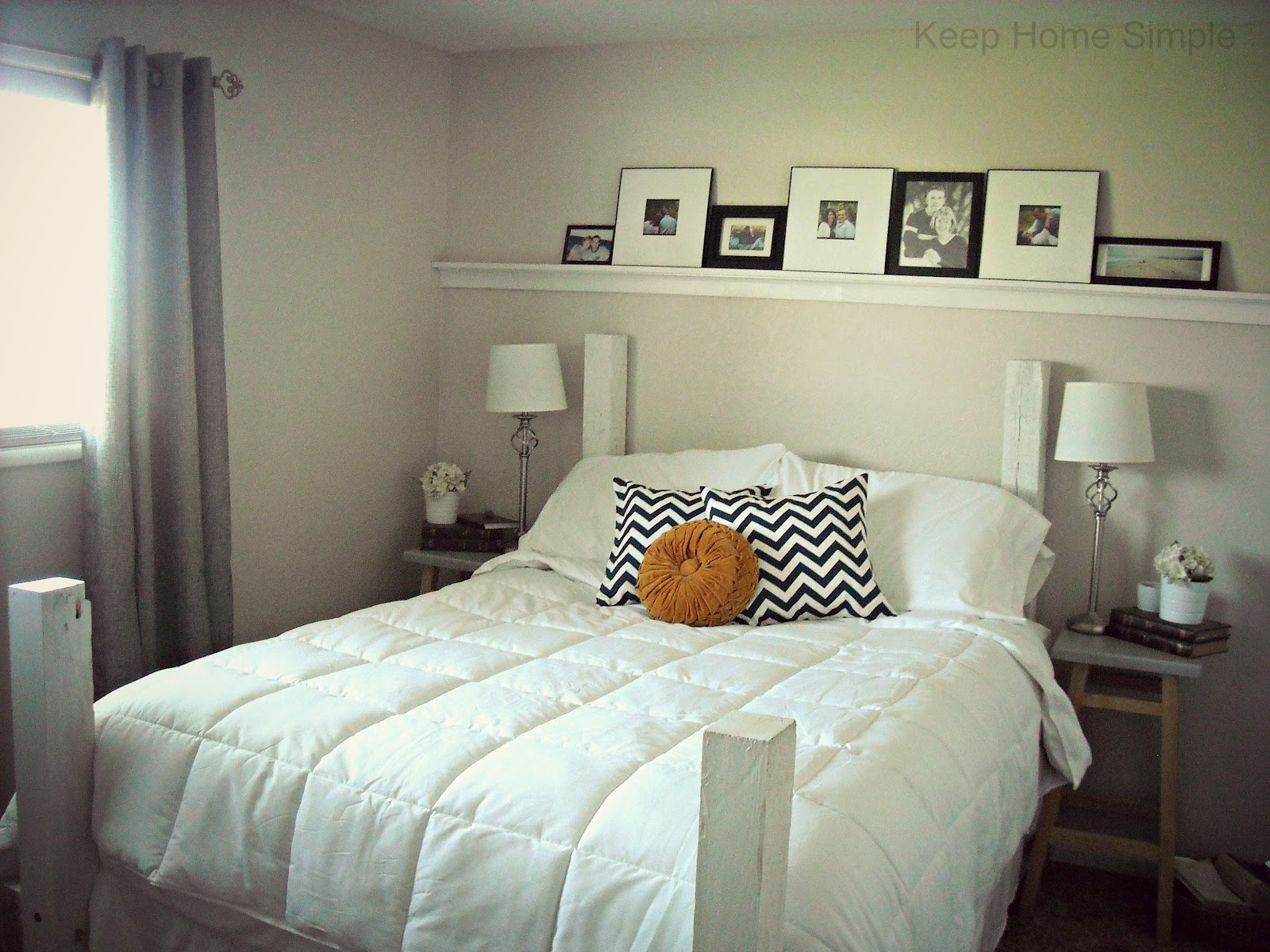 Keep Home Simple Redecorating Our Masterbedroom On A