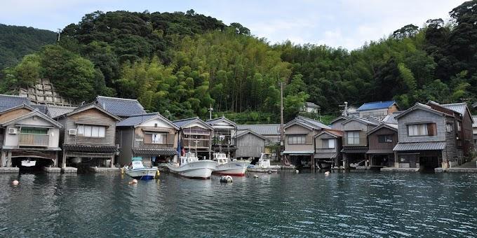 【夢幻仙景】「浮在海上的小鎮」 京都伊根舟屋