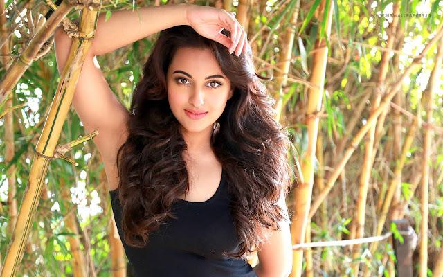 Latest hot hd wallpaper of bollywood actress Sonakshi Sinha.