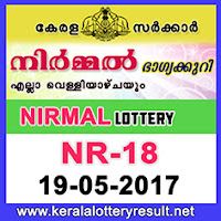 Nirmal Lottery NR-18 Results 19-5-2017
