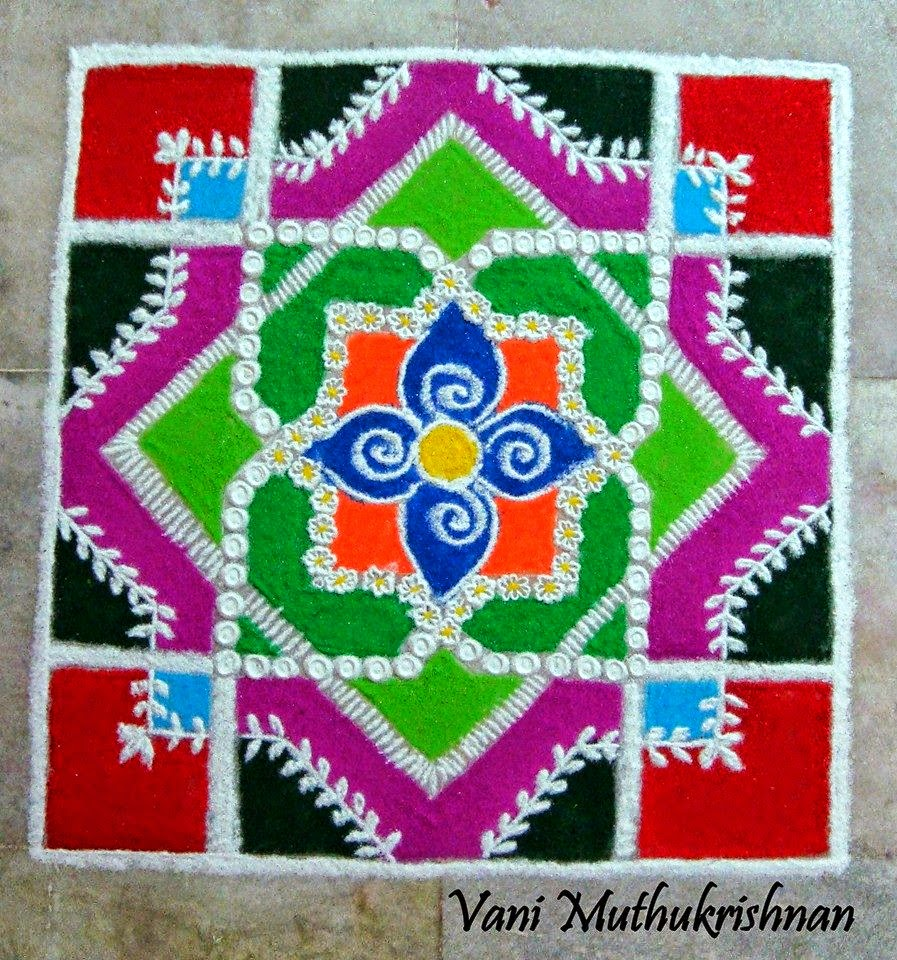 Kolam Designs 38
