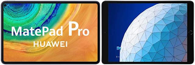Huawei MatePad Pro vs Apple iPad Air 3