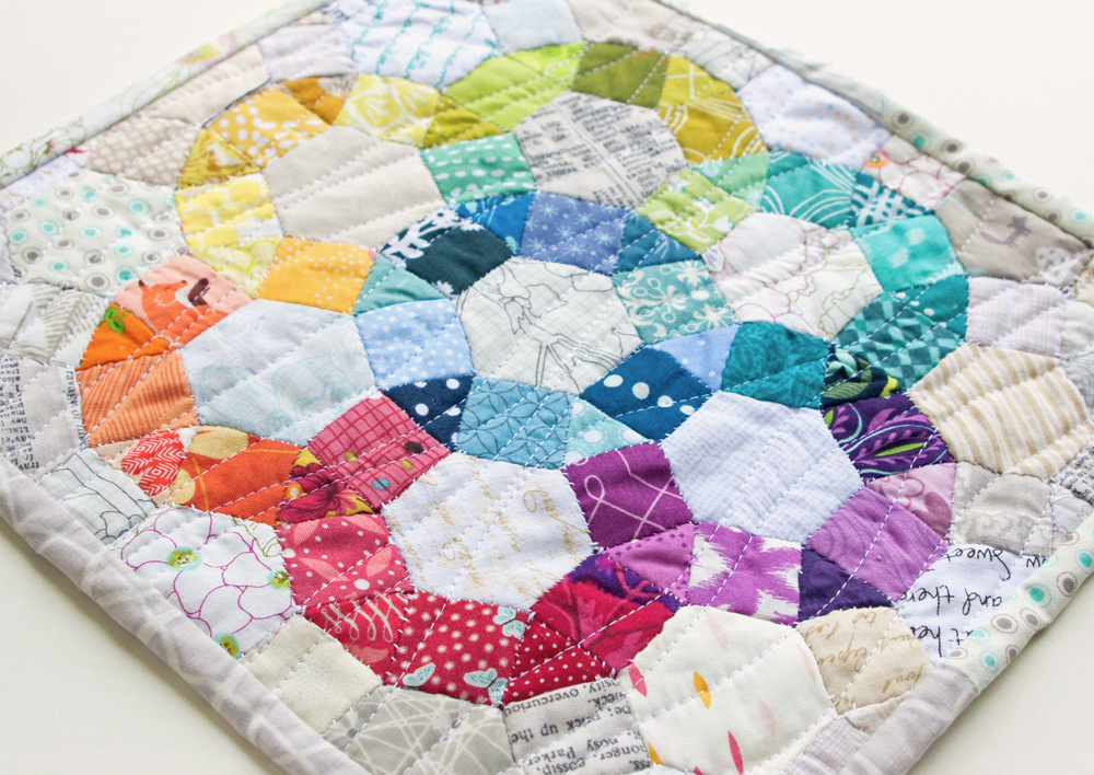 30 Colorful Hexagon Projects To Sew Flamingo Toes