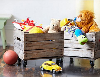 DIY Original And Inexpensive Toy Storage Ideas 1