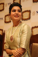 Samantha Ruth Prabhu in Cream Suit at Launch of NAC Jewelles Antique Exhibition 2.8.17 ~  Exclusive Celebrities Galleries 031.jpg