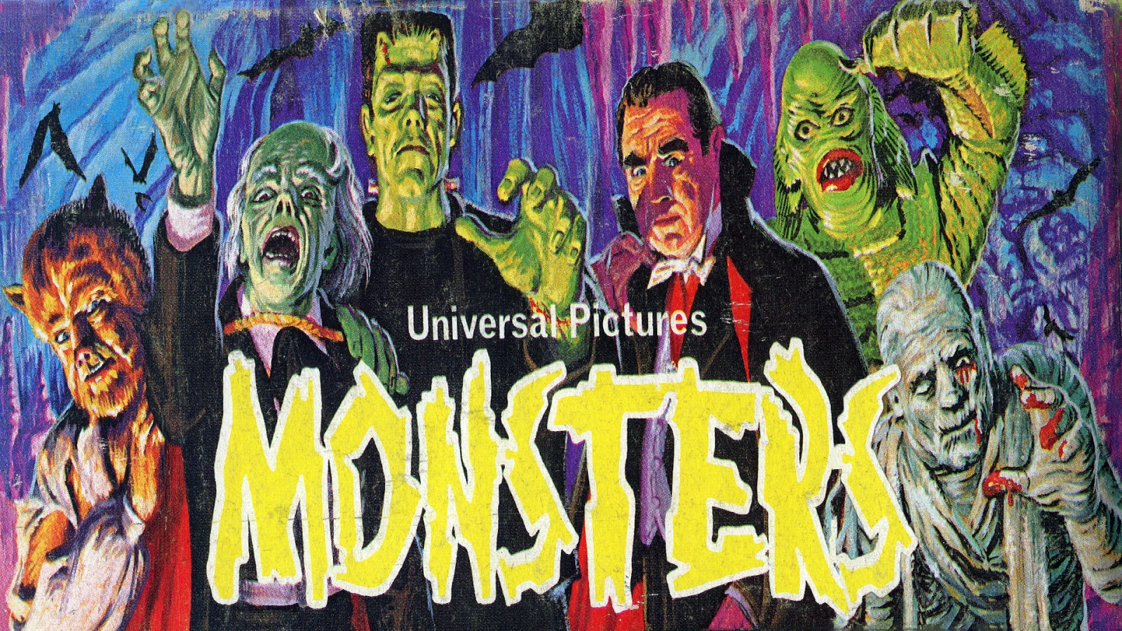 Classic Monster Wallpaper Backgrounds