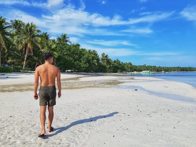 Malinao Beach in General Luna, Siargao Island