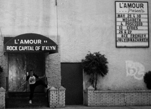 L'amour's rock club in Brooklyn, New York