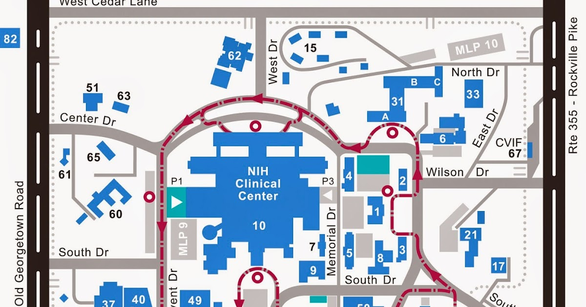 Go Montgomery Nih Entrance Temporarily Closed