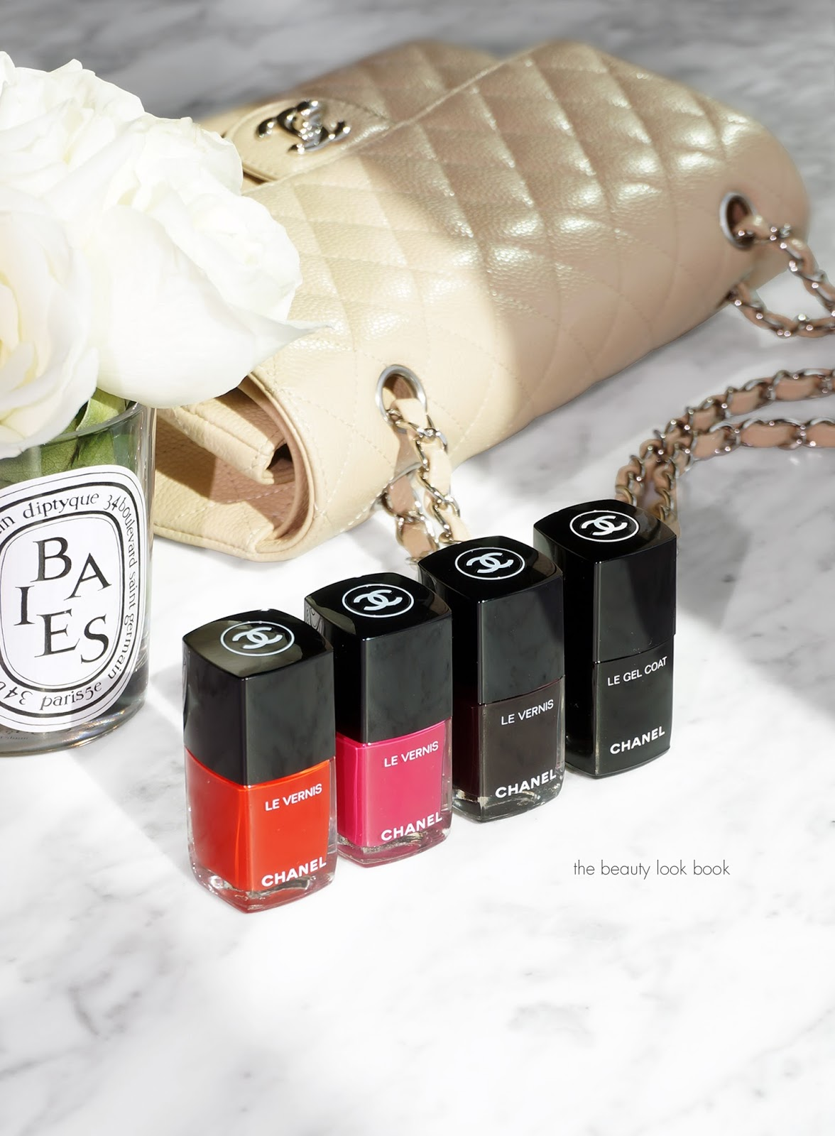Chanel Le Vernis Longwear Nail Color and Le Gel Coat Longwear Top ...