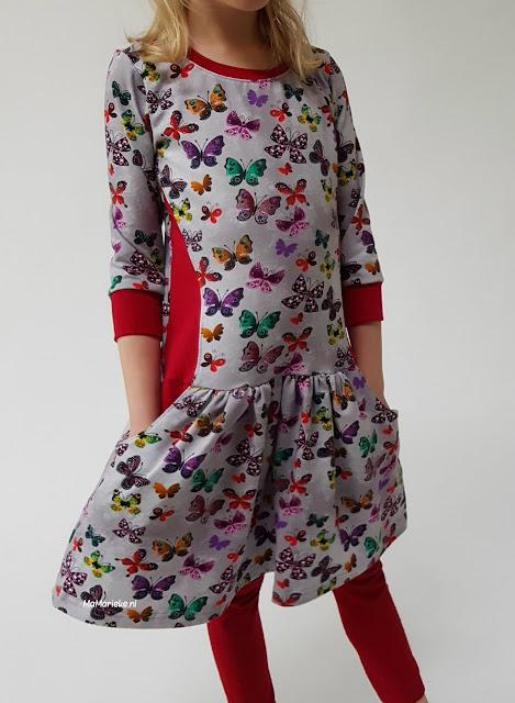 Foras jurk Sofilantjes gerimpelde rok MaMarieke
