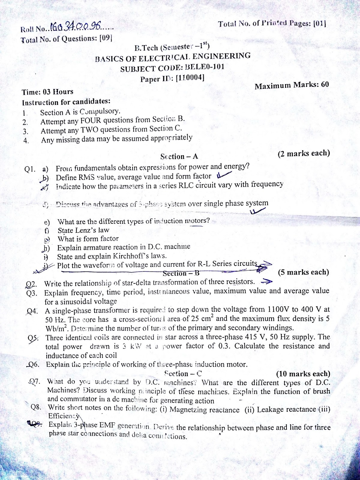 Mrsptu final exam time table MAY 2017 | Study material