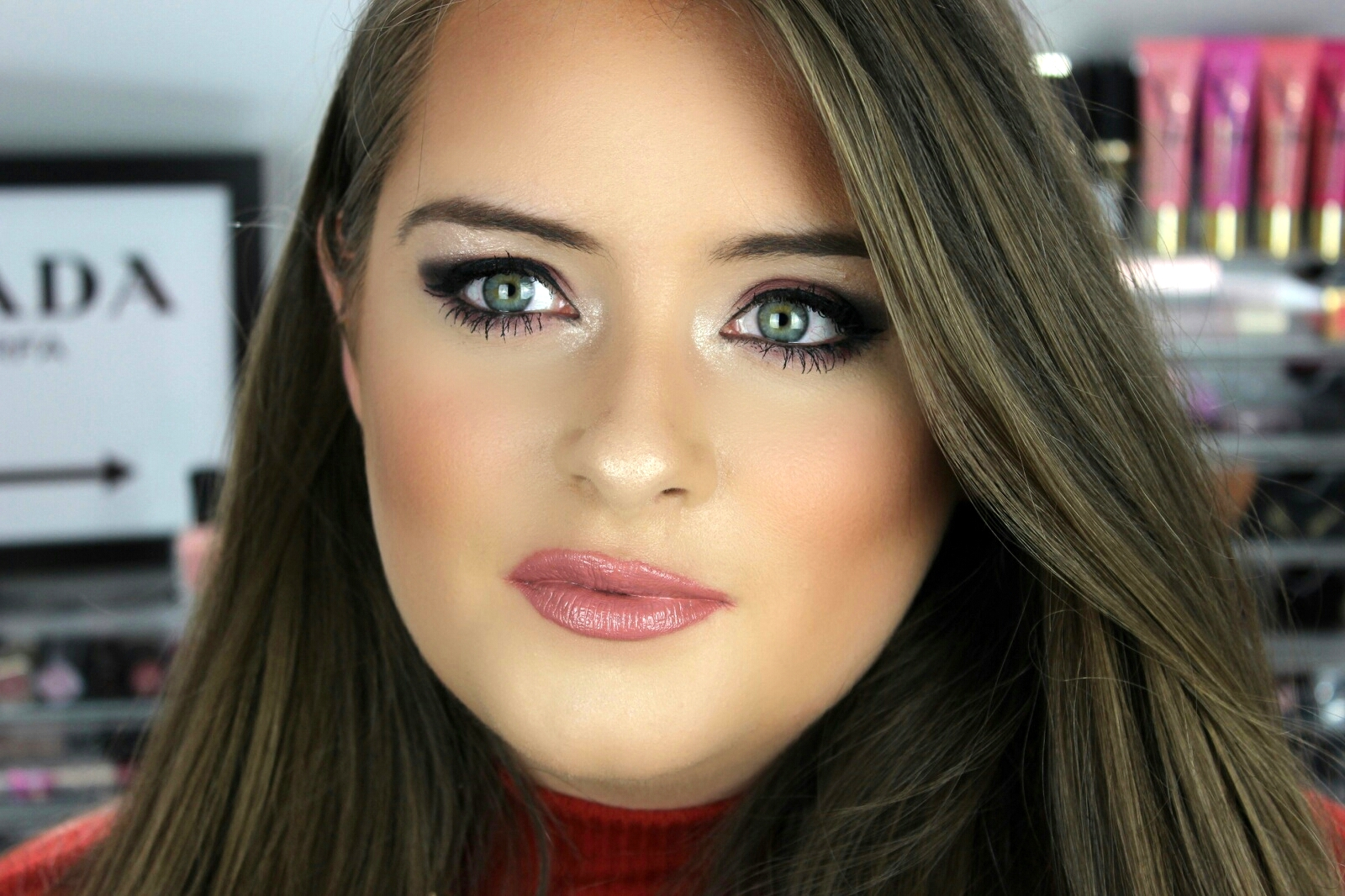 Smokey Mauve Makeup Jodie Caughey