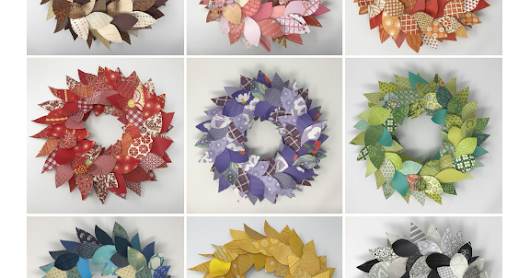 Colorful Table Wreaths