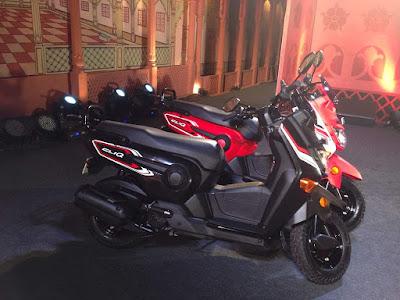 New 2017 Honda Cliq 110 cc scooter