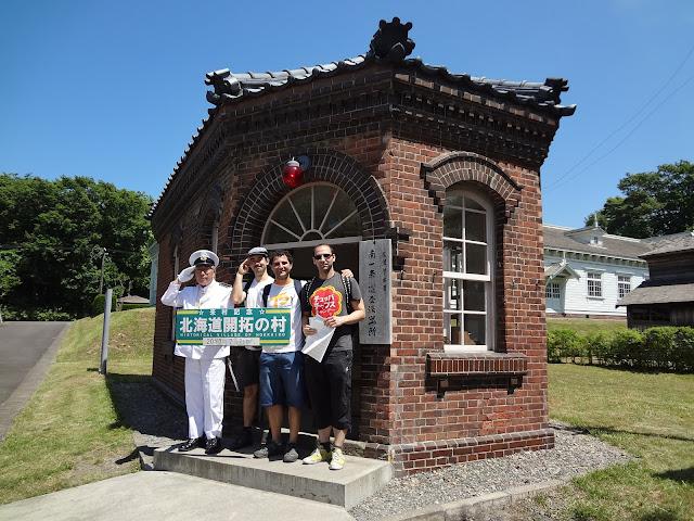 Museo de la villa histórica de Hokkaido