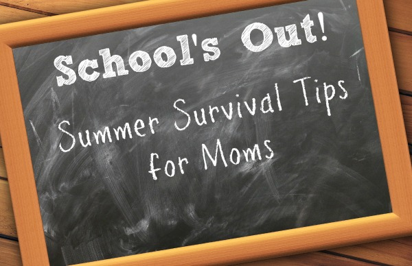 If the thought of a summer full of fighting, bored kids terrifies, you, check out these Summer Survival Tips!