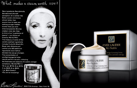 What Makes A Cream $115? - Esteé Lauder Ad