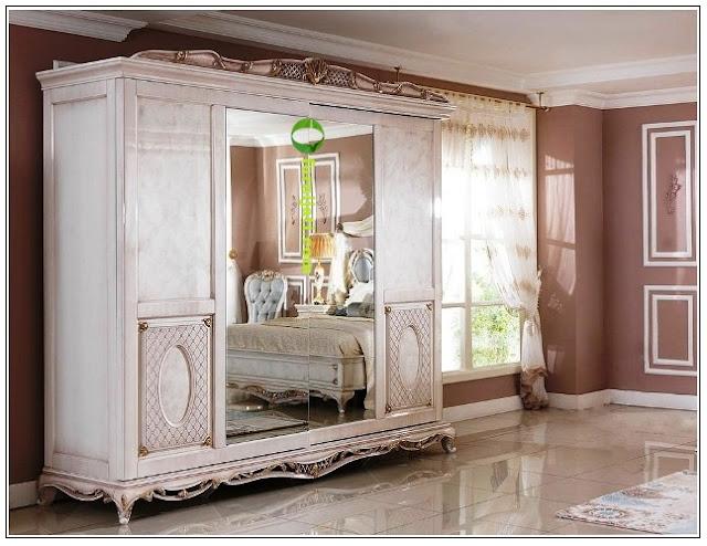 Jual lemari kayu jati cantik