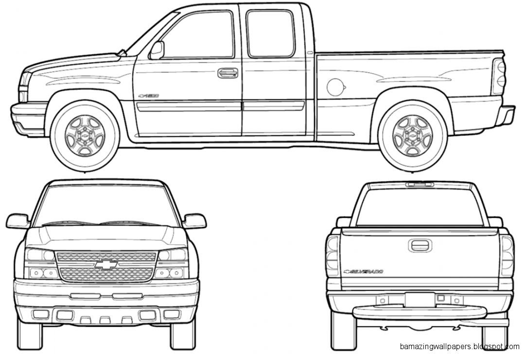 Cool Chevy Truck Drawings | Amazing Wallpapers