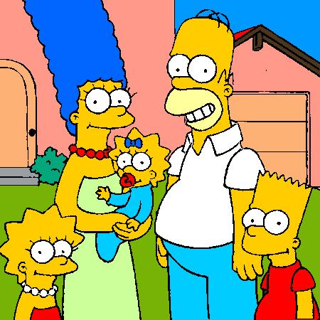Coloriage Simpson En Ligne Liberate