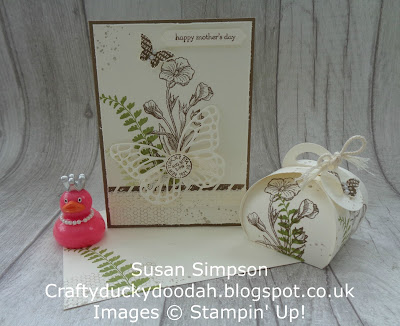 Craftyduckydoodah!, Stampin' Up! UK Independent  Demonstrator Susan Simpson, Butterfly Basics, Supplies available 24/7 from my online store, Coffee & Cards project March 2018,