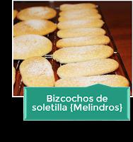 BIZCOCHOS DE SOLETILLA {MELINDROS}