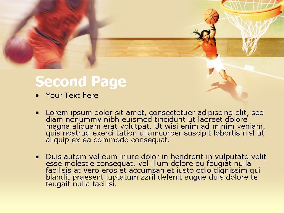 Sport PowerPoint template 3