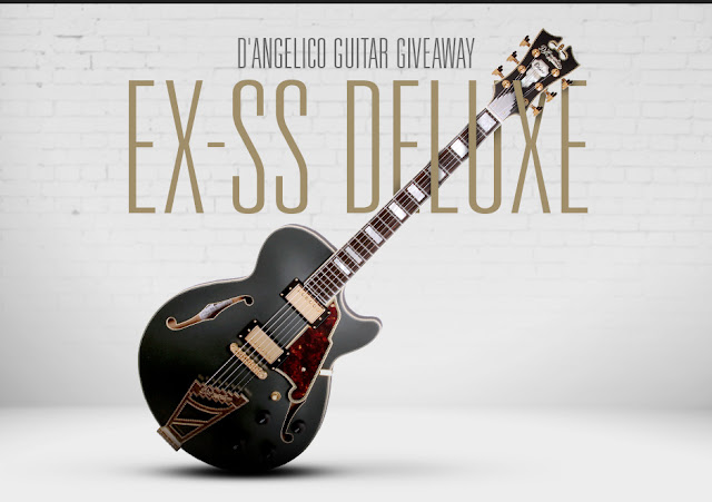 D'Angelico Electric Guitar Giveaway