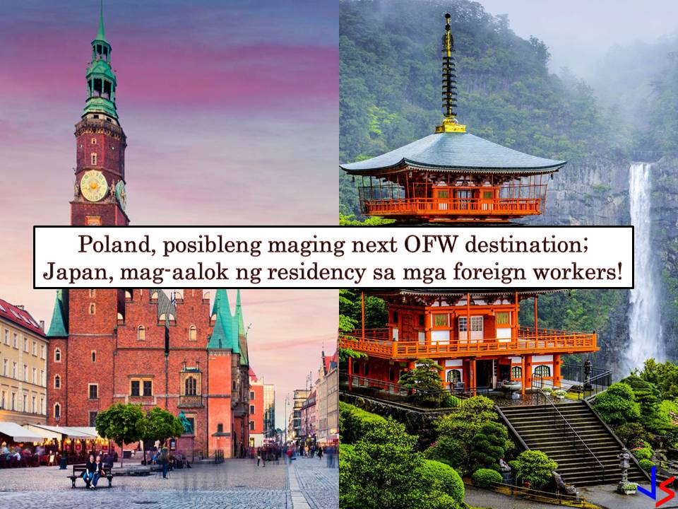Due to a labor shortage, Poland is currently considering hiring Filipino workers. Right now, it is reported that Poland is forging an agreement with Philippines authorities so that Filipino workers may able to work in the said European country. According to Deputy Labor Minister Stanislaw Szwed, they are hoping to have an agreement with the Philippines by September this year.