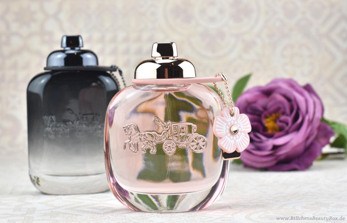 Review und Duftbeschreibungen COACH Floral und COACH for Men Eau de Parfum