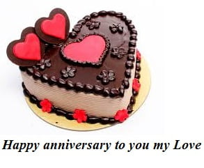 Happy Anniversary Name Cake Picimagemessages Photosms