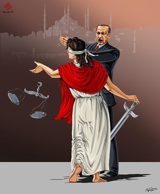 omorfos-kosmos.gr - Σατιρικά σκίτσα αποκαλύπτουν πως βλέπουν οι ηγέτες κρατών την δικαιοσύνη (Εικόνες)