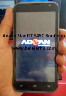 Flashing Advan Star Fit S45C Bootloop