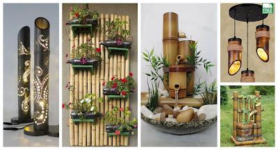decoración-palos-bambú