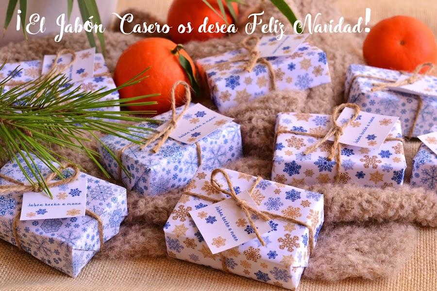 el jabon casero os desea feliz navidad