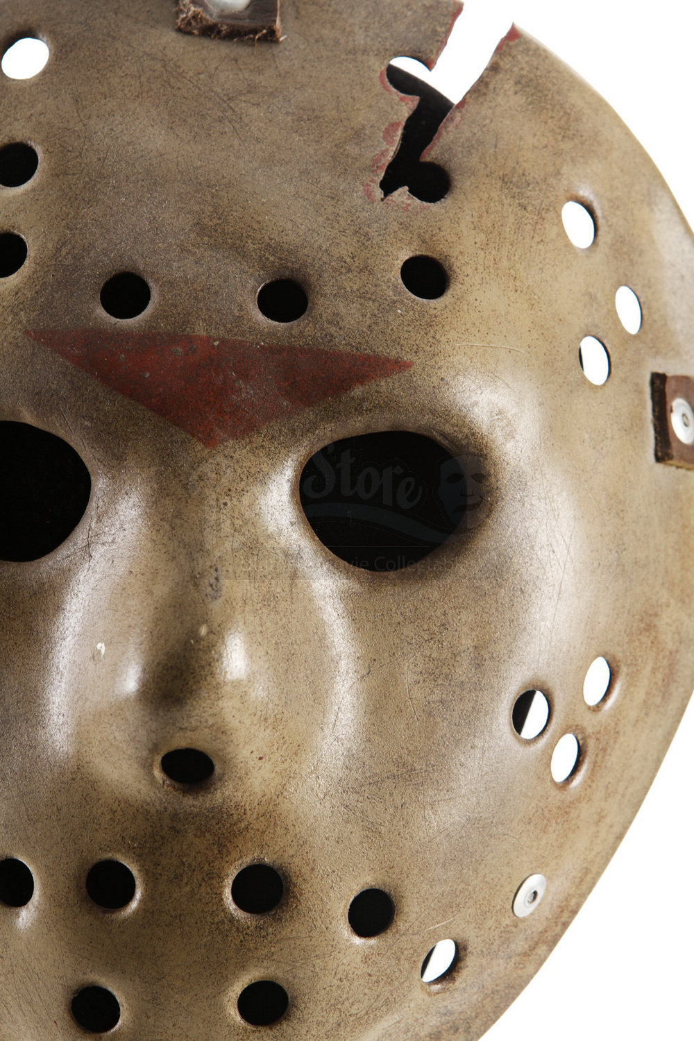 Rare Jason Lives Promotional Hockey Mask Sold Friday JPG 1000x1500 Voorhees Template