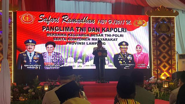 Panglima TNI : Radikalisme Dapat Dicegah Melalui Kepedulian Masyarakat